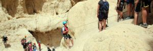 Canyoning in Israel