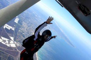 skydiving in israel