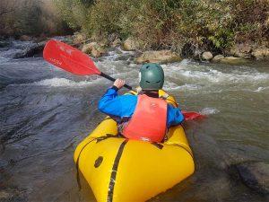 extreme white water rafting
