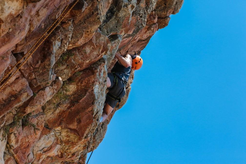 rock climbing israel