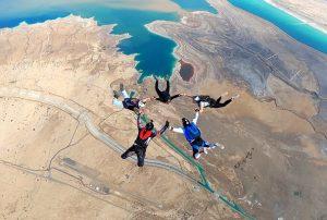 dead sea skydive