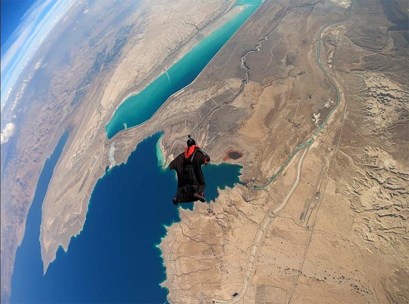 Skydiving In The Desert